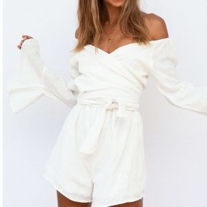 NWT Sabo Skirt Addison playsuit romper 8/L